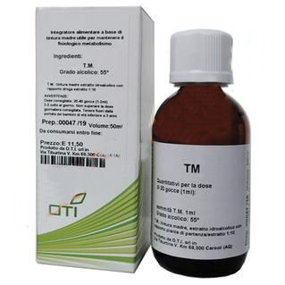 OTI Crataegus Oxyacant Tintura Madre Gocce Integratore Alimentare 100ml