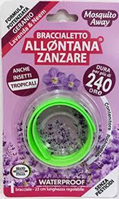 Image of Idee Innovative Braccialetto Allontana Zanzare Durata 240h 923372926