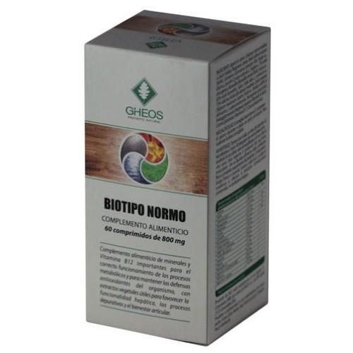 Image of Gheos Biotipo Normo Integratore Alimentare 60 Compresse 923391306