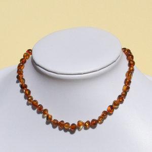 Image of Alma Briosa Almababy Ambra Rounded Collanina Honey 923473336