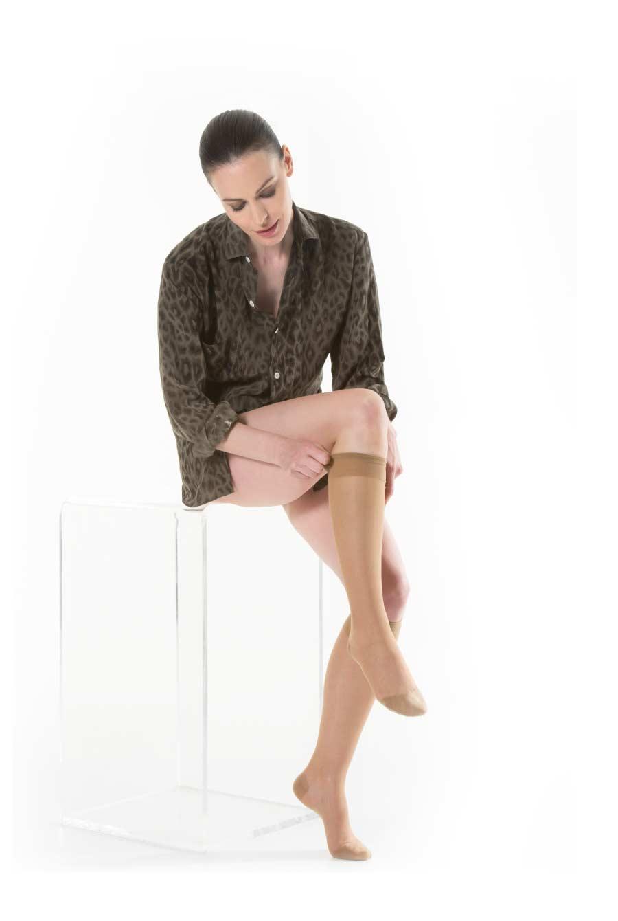 Image of CA-MI Kami Bas New 140 Gambaletto 3 Visone 923502621
