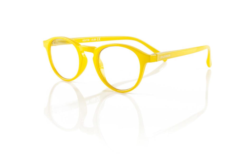 Image of Dobleice Occhiali Velvet Yellow Diottrie +2.00 923508269
