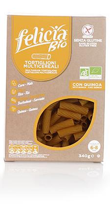 Felicia Bio Pasta Multicereali Senza Glutine 340g