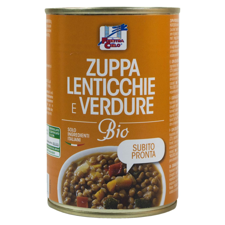 Zuppa Lenticchie E Verdure Biologico 400g