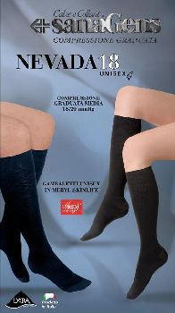SanaGens Nevada 18 Meryl Gambaletto Colore Blu Taglia 3 M