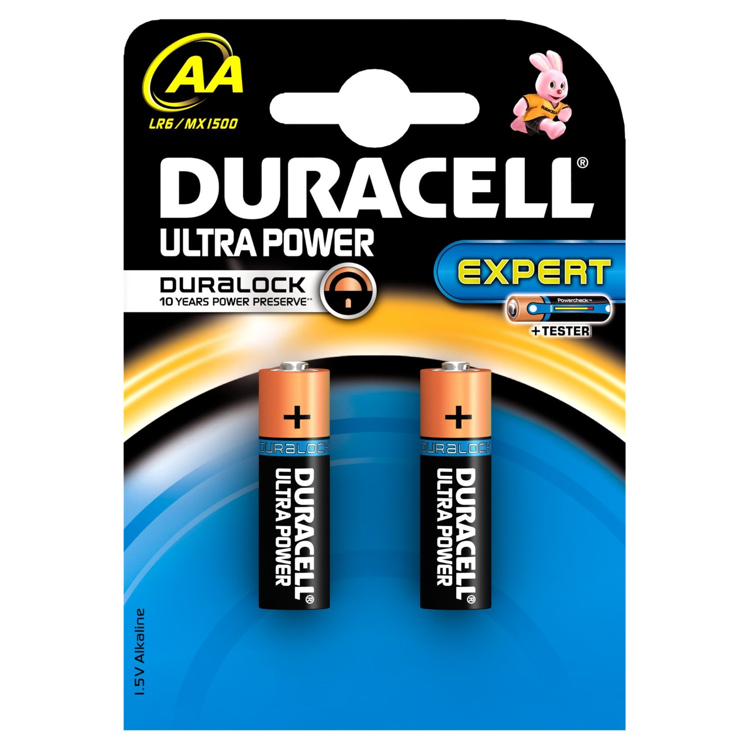 Duracell Batterie Ultra Power Expert AA 2 Pezzi