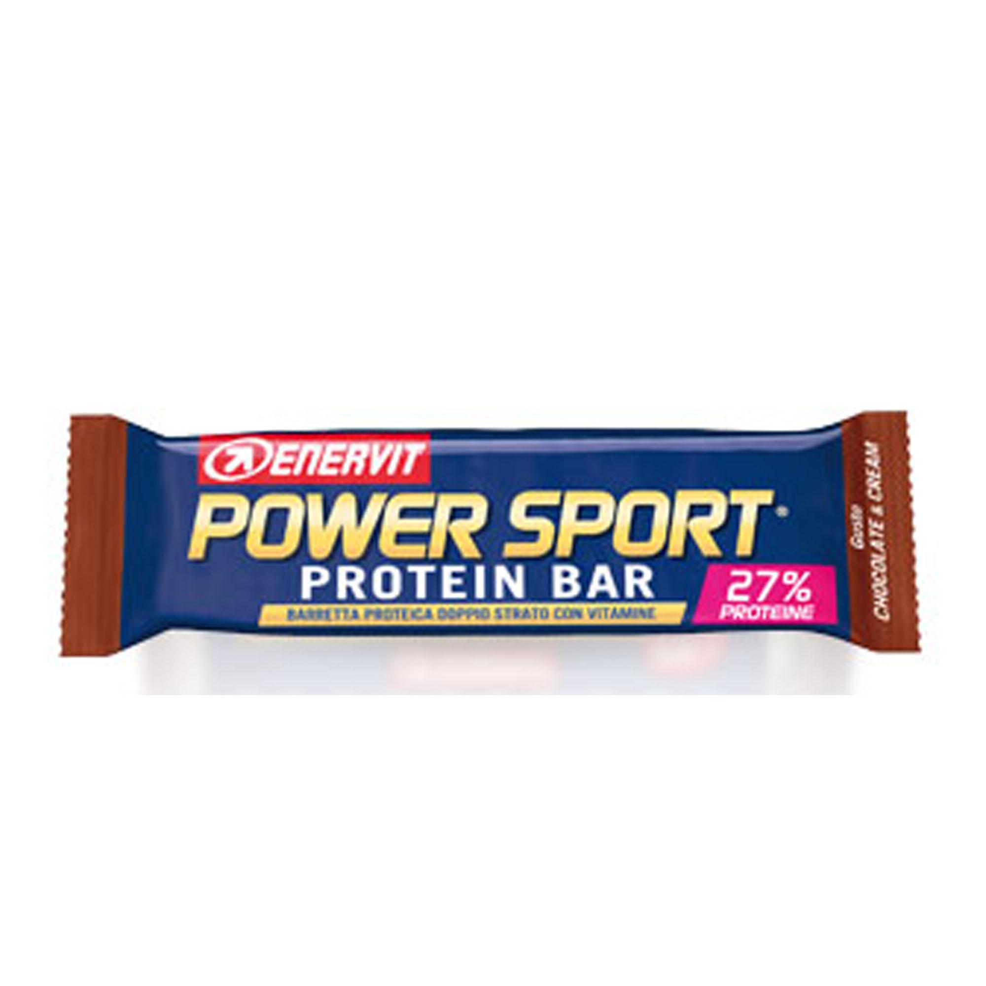 Image of Enervit Power Sport Protein Bar Chocolate & Cream Barretta Proteica 45g 923782015