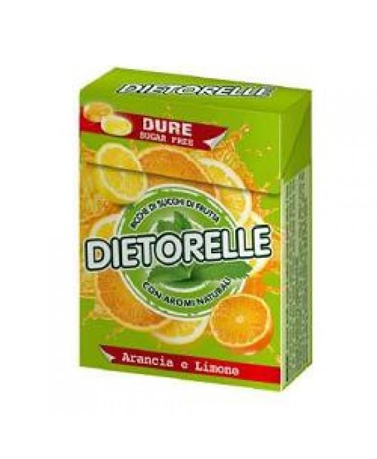 Image of Dietorelle Caramelle Dure Con Arancia E Limone Con Stevia 40 Confetti 923788448