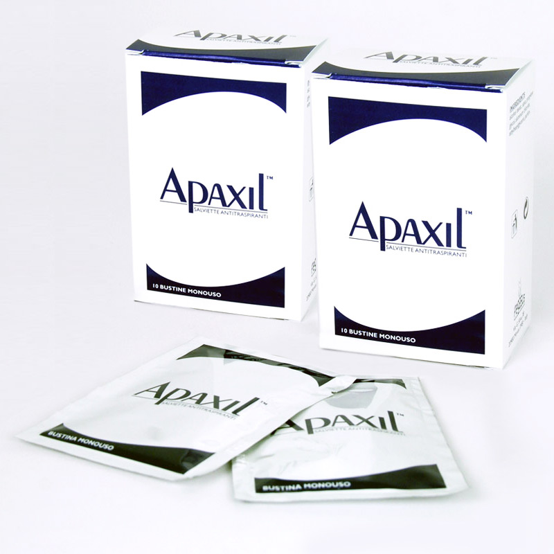Image of Apaxil Salviette Antitraspiranti 10 Bustine Monouso 924120710