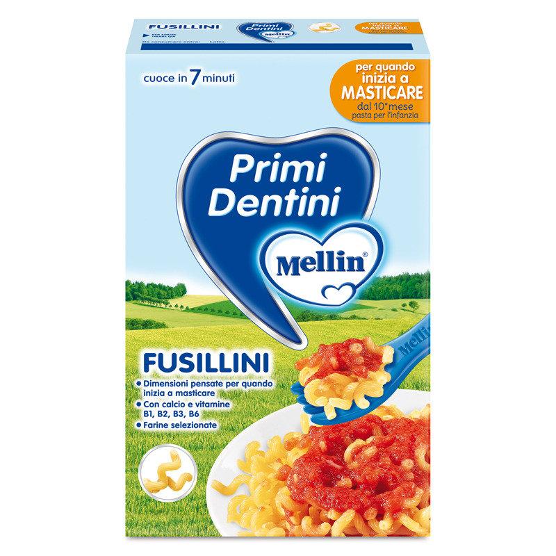 Mellin Primi Dentini Fusillini Pasta 280g