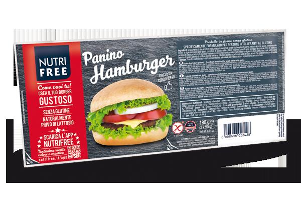 Image of NutriFree Panino Hamburger Senza Glutine 180g (90gx2)