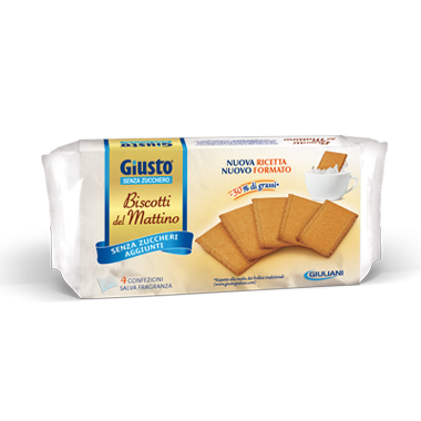 Giusto Biscotti Del Mattino Senza Zucchero 350g