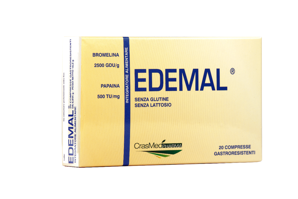 Image of Crasmed Pharma Edemal Integratore Alimentare 20 Compresse 924457272