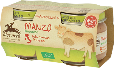 Image of Alce Nero Omogeneizzato Di Manzo Biologico 2x80g 924751769