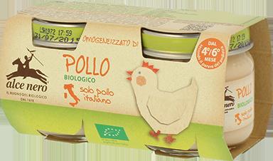 Image of Alce Nero Omogeneizzato Di Pollo Biologico 2x80g 924751771