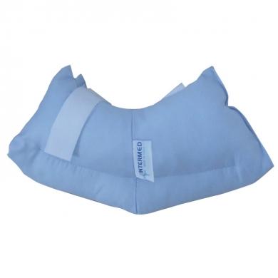 Image of Intermed Easy Protezione Per Il Tallone E Caviglia In Fibra Cava Siliconata 924753674