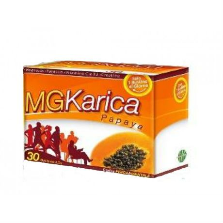 Image of E.F.A.S. Mg Karica Papaya Integratore Alimentare 30 Bustine 924923624