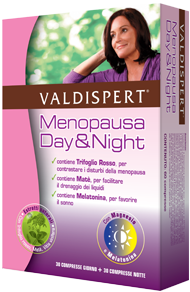 Valdispert Menopausa Day&Night Integratore Alimentare 30+30 Compresse