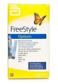Image of Abbott Diabetes Freestyle Optium Test Strips 50 924961372