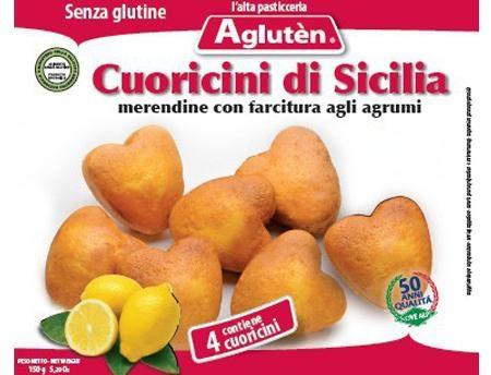 Image of Aglutén Cuoricini Di Sicilia Senza Glutine 150g 924994837