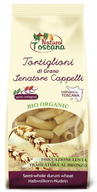 Natura Toscana Tortiglioni Biologici Di Grano Senatore 500g