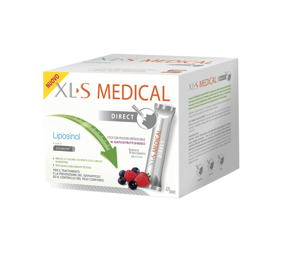 XL S Medical Liposinol Direct Integratore Alimentare 90 Stick Orosolubili