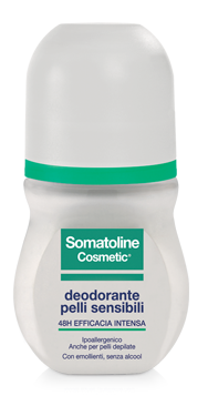 Somatoline Cosmetic Deodorante Pelli Sensibili Roll On 50ml