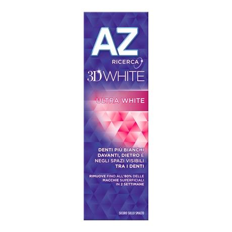 *AZ DENT COMPLETE 3D U/WHITE 75 ML