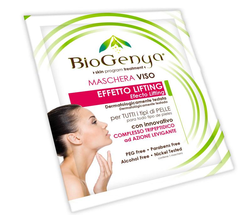Image of Biogenya Maschera Viso Effetto Lifting 1 Maschera 925329296