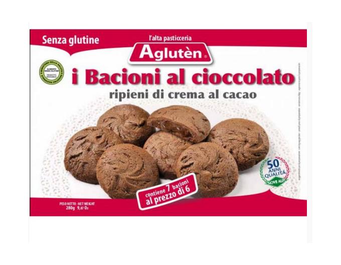 Image of Aglutèn Bacioni Al Cioccolato Biscotti Senza Glutine160g 925336188