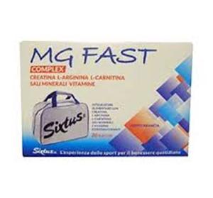 MG Fast Complex Integratore Alimentare 20 Bustine