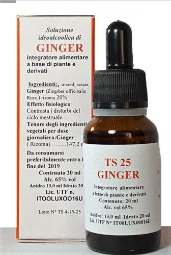 Image of Alkaest Ts25 Ginger Gocce 20ml 925514820