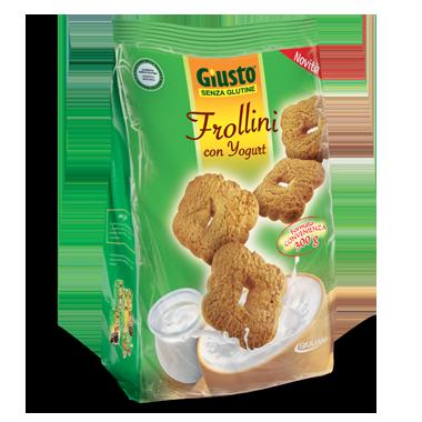 Giusto Frollini Con Yogurt Senza Glutine 300g