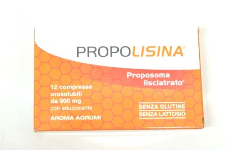 Propolisina Gusto Agrumi Integratore Alimentare 12 Compresse Orosolubili
