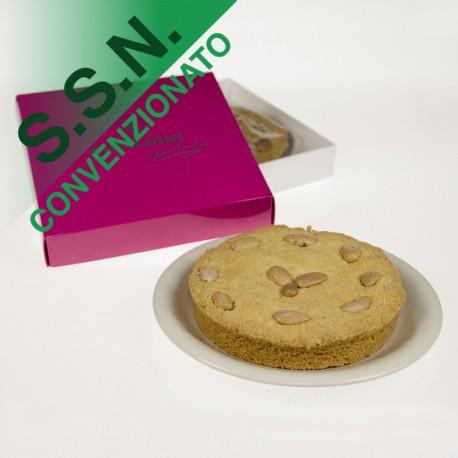 Dolcerial Rinaldini Sbriso Torta Con Mandorle Senza Glutine 300g