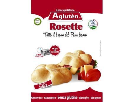 Image of Aglutén Pane Bianco Rosette Senza Glutine 200g 925884936