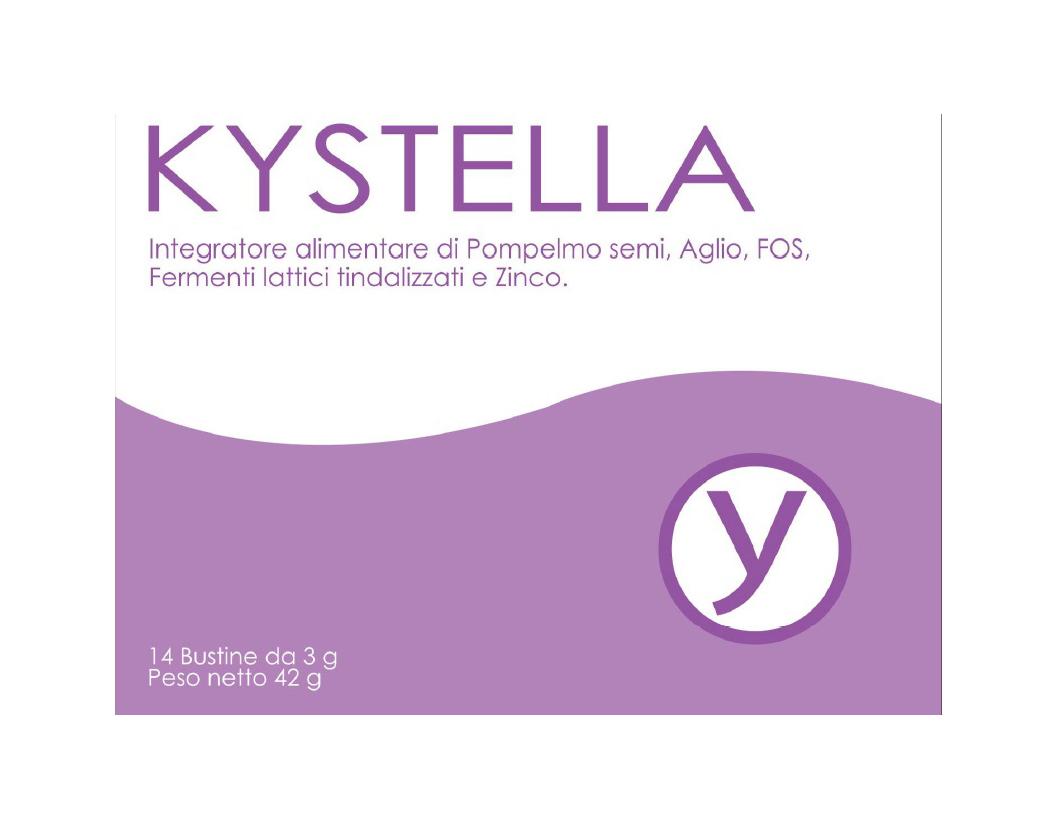 Image of Gamma@Pharma Kystella Integratore Alimentare 14 Bustine 926036524