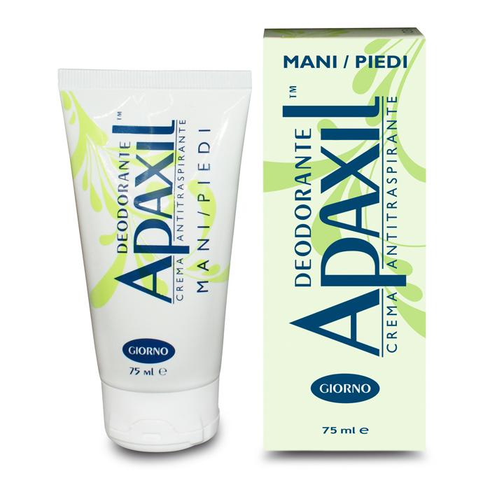 Apaxil Crema Antitraspirante Mani/Piedi Giorno 75ml
