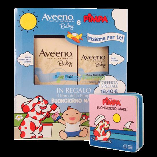 Aveeno Cofanetto Pimpa Fluid+baby Lotion