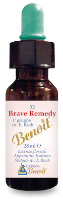 Image of Benoit Brave Remedy Fior Di Bach 10ml 926501077