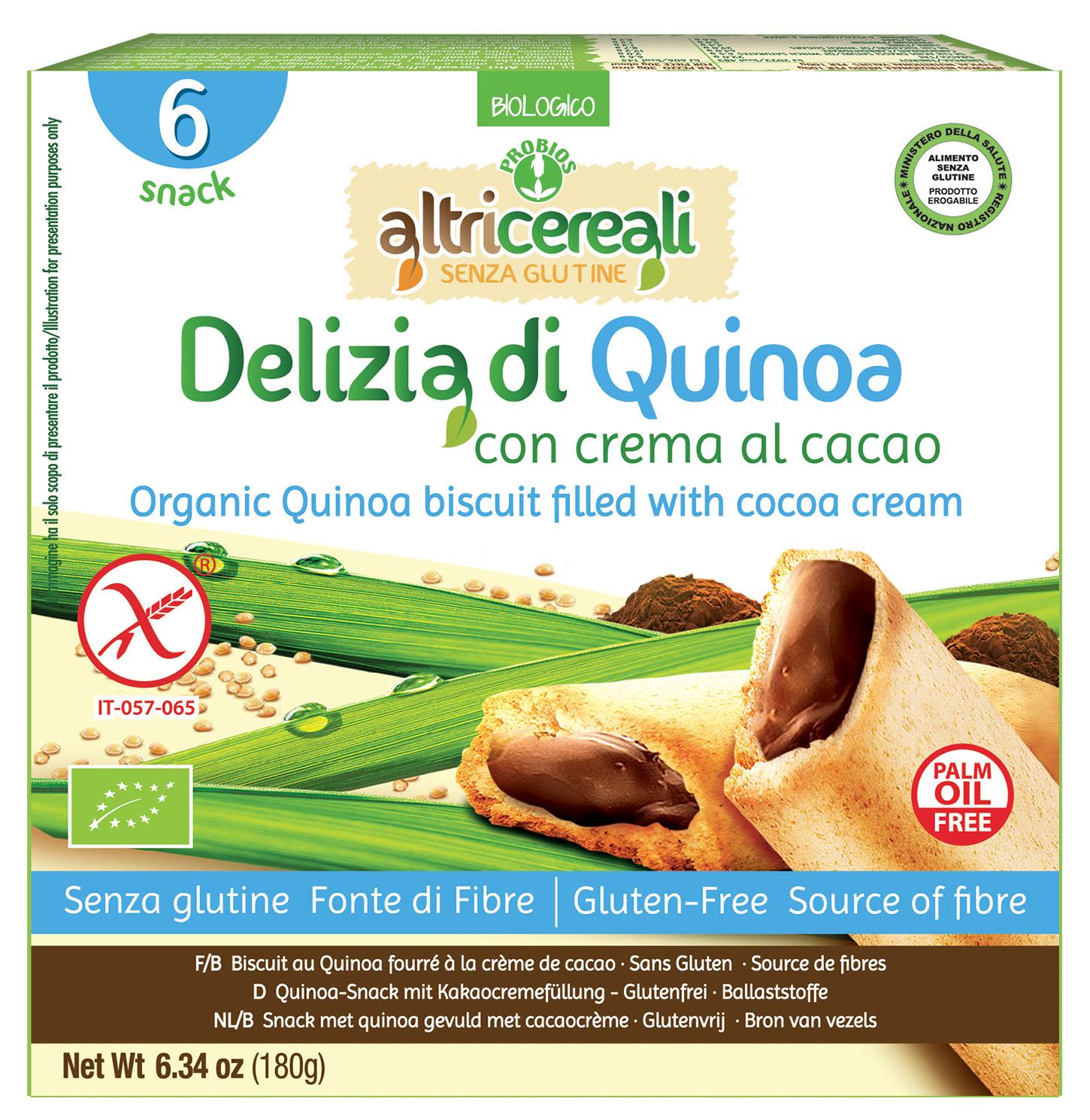 Image of Altri Cereali Delizia Quinoa Biologico 6 Pezzi 926522715