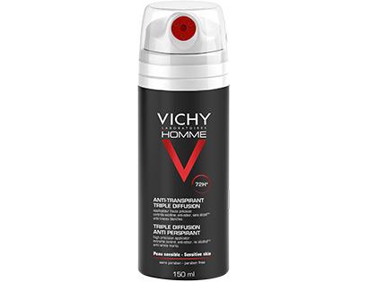 Vichy Homme Desodorante Anti-transpirable Triple Difusión