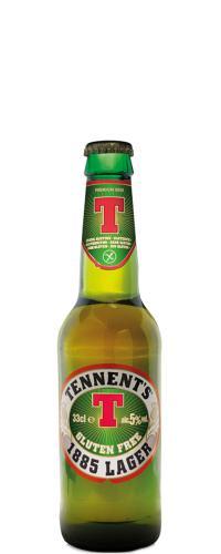 Image of Interbrau Tennent's 1885 Lager Birra Senza Glutine 330ml 926572076