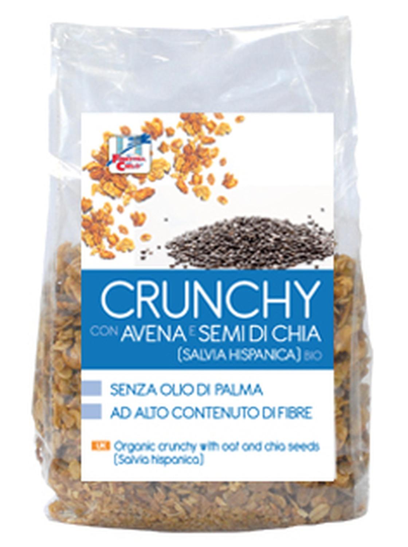 Crunchy Con Avena E Semi Di Chia Biologico 375g
