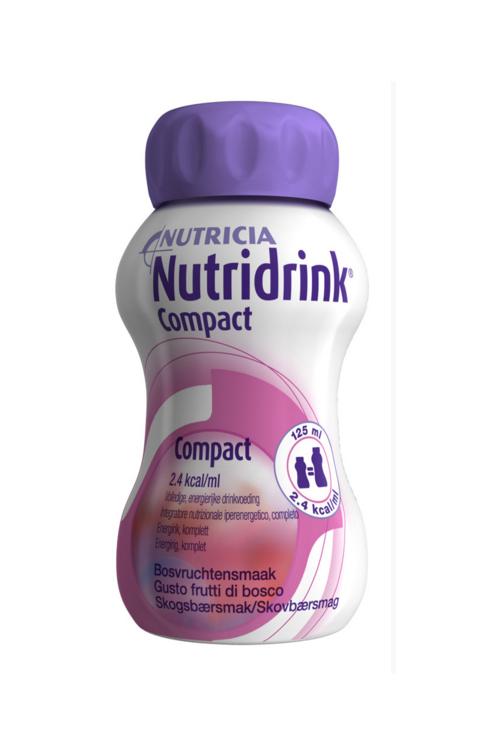 Nutricia Nutridrink Compact Integratore Alimentare Gusto Frutti Di Bosco 4x125ml
