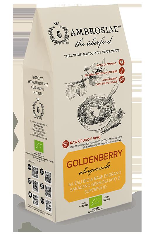 Image of Ambrosiae Uberfood Goldenberry Biologico 130g 926594096