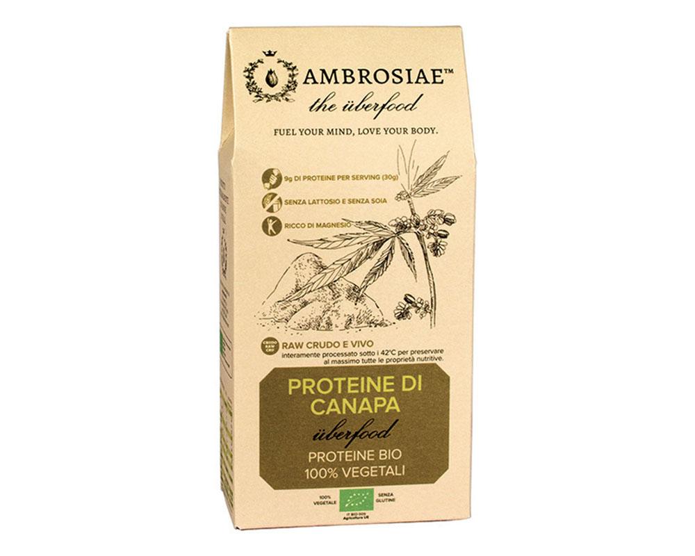 Image of Ambrosiae Uberfood Proteine Della Canapa Biologico 200g 926594110