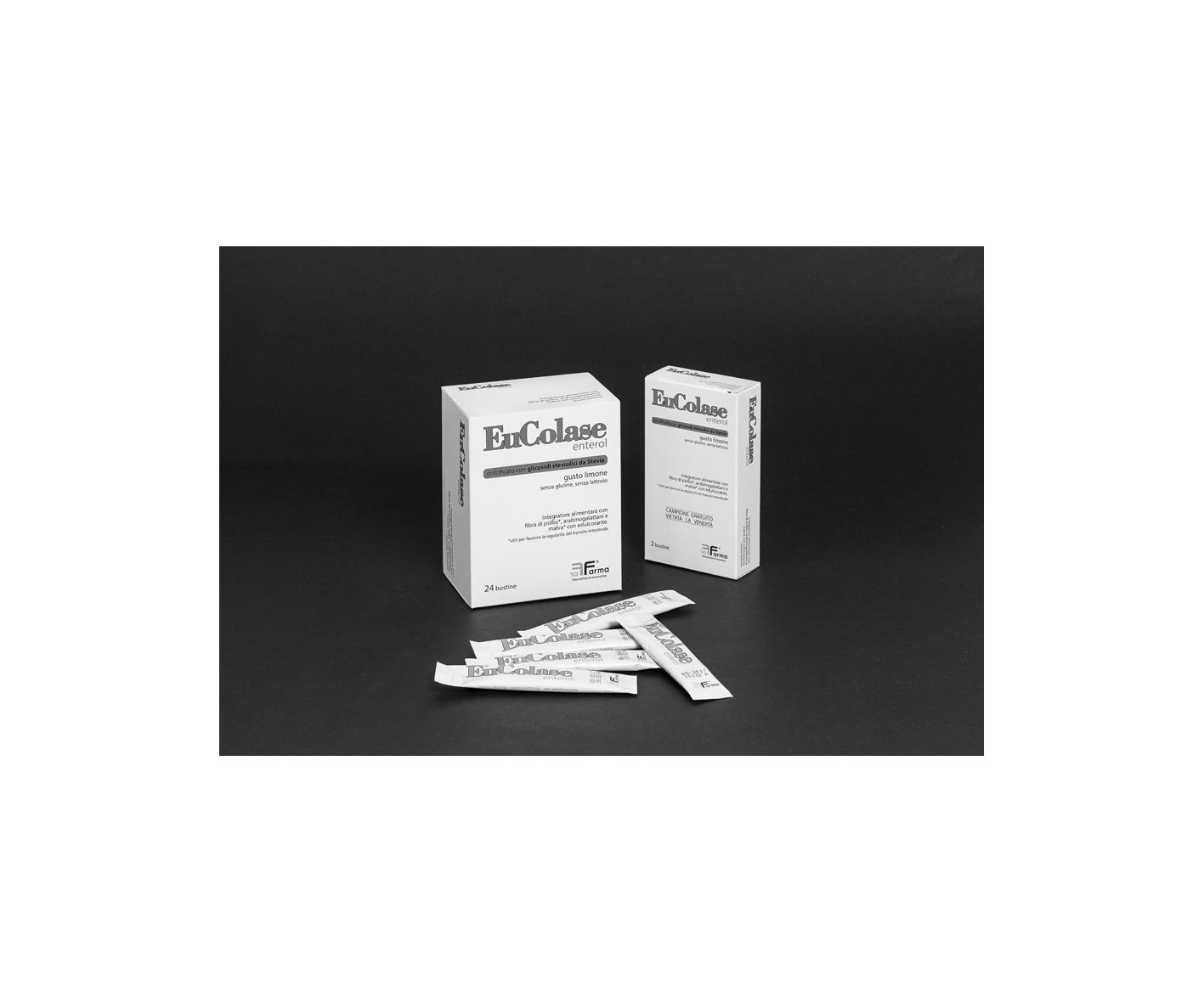 ForFarma EuColase Enterol Integratore Alimentare 24 Bustine