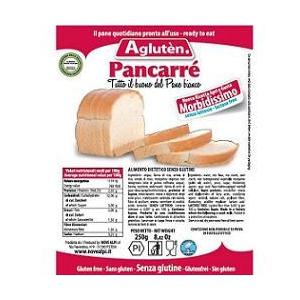 Image of Agluten Pancarrè Pane Bianco Pronto Per L'Uso Senza Glutine 500g 926826090