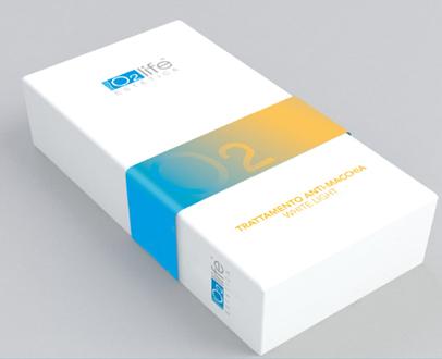 O2 Life Estetica Trattamento Anti Macchia White Light Refiller 6 Fiale Da 2ml + Dispositivo Per Applicazi